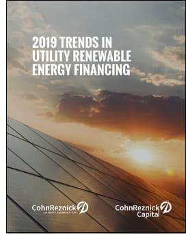 trends utilit renewable energy financing