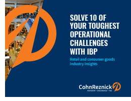 ibp solve 10 integrated business planning plan