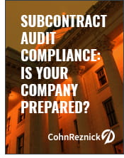 Subcontract Audit Compliance: Is Your Company Prepared