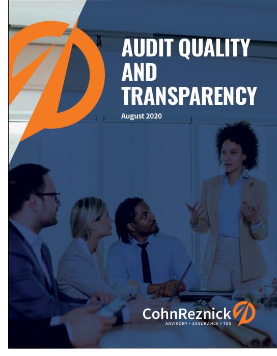 audit transparency report