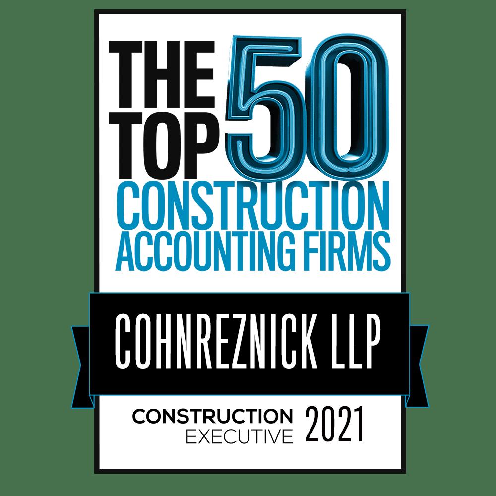 Top 50 Construction Firms Logo
