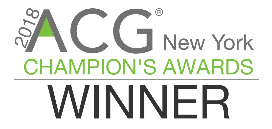 ACG New York Selects CohnReznick as Accounting Firm of the Year