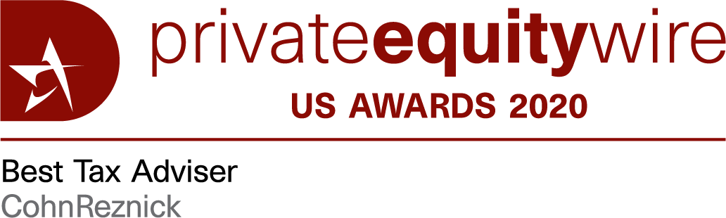 private equity award best tax adviser