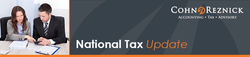 CohnReznick National Tax Update Newsletter - August