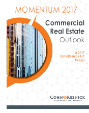 CohnReznick's Momentum 2017 Real Estate Outlook