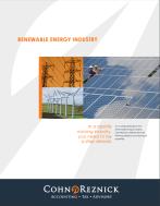 CohnReznick's Renewable Energy Practice Overview