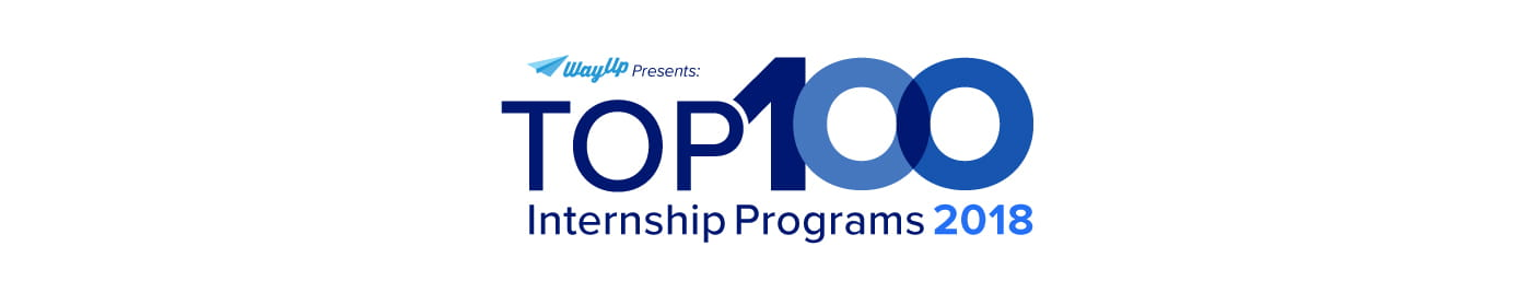 WayUp Top 100 Internship Programs 2018