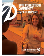 connecticut community impact report cohnreznick cares 2018