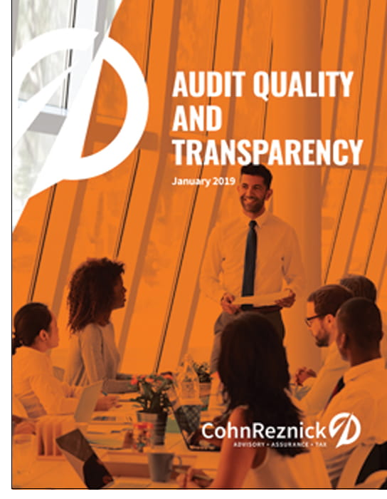 audit transparency report