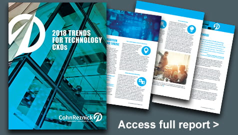 2018 Trends for Technology CXOs